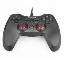 NGS Maverick Manette de jeu PC,Playstation 2,Playstation 3 Analogique/Numérique Noir