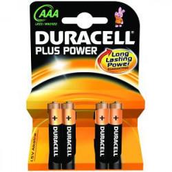 Duracell MN2400B4 pila doméstica Batería de un solo uso AAA Alcalino
