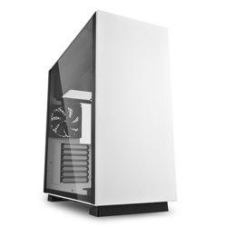 Sharkoon Pure Steel Midi ATX Tower Noir, Blanc