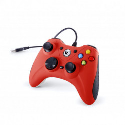NACON GC-100XF Gamepad PC Analog USB Schwarz, Rot
