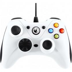 NACON PCGC-100WHITE accessoire de jeux vidéo Manette de jeu PC Analogique USB Blanc