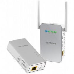 Netgear PowerLINE 1000 + WiFi Eingebauter Ethernet-Anschluss WLAN Weiß 2 Stück(e)