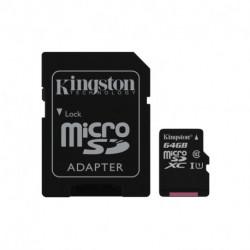 Kingston Technology Canvas Select memoria flash 64 GB MicroSDXC Clase 10 UHS-I