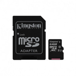 Kingston Technology Canvas Select Speicherkarte 64 GB MicroSDXC Klasse 10 UHS-I SDCS/64GB