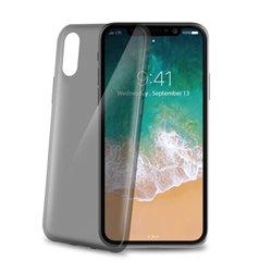 "Celly THIN900BK funda para teléfono móvil 14,7 cm (5.8"") Negro, Transparente"