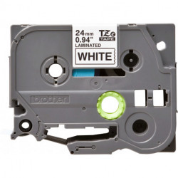Brother TZe-251 cinta para impresora de etiquetas Negro sobre blanco