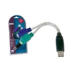 Digitus USB to PS/2 Adaptor tarjeta y adaptador de interfaz