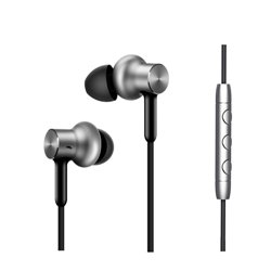 Xiaomi Mi In-Ear Headphones Pro HD casque et micro Binaural écouteur Argent