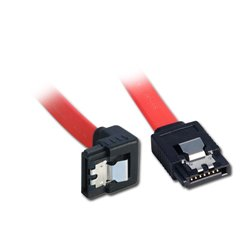 Lindy Internal SATA cable, 0.50 m SATA-Kabel 0,5 m Rot 33456