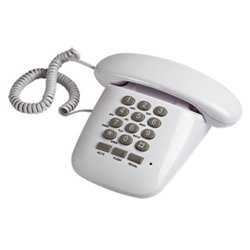 Brondi Sirio Teléfono analógico Blanco