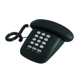 Brondi Sirio Analoges Telefon Schwarz