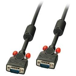Lindy 36377 cable VGA 10 m VGA (D-Sub) Negro