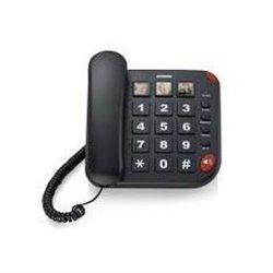 Brondi BRAVO 15 Teléfono analógico Negro Identificador de llamadas