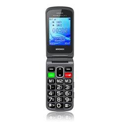 "Brondi AMICO FLIP PLUS 6,1 cm (2.4"") 82 g Negro Característica del teléfono"