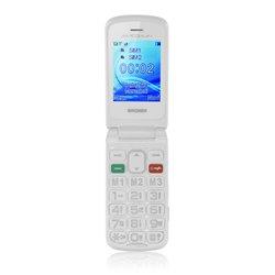 Brondi AMICO FLIP PLUS 6,1 cm (2.4 Zoll) 82 g Weiß Funktionstelefon