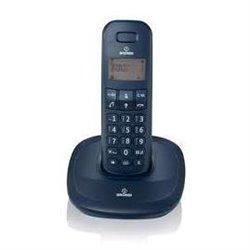 Brondi GALA Teléfono DECT Negro Identificador de llamadas