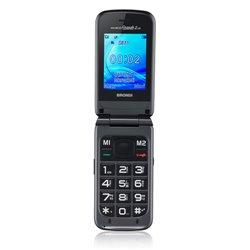 """Brondi Amico Grande 2 LCD 6.1 cm (2.4"""") Titanium Feature phone 10274010"""