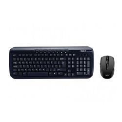 Adj KW118 teclado RF inalámbrico QWERTY Italiano Negro
